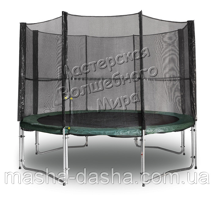Батут механический с защитной сеткой (366 см)
