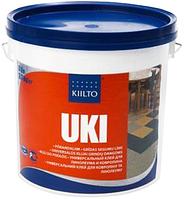 Kiilto Uki (Киилто Юки) 15л 18кг акрилодисперсионный клей для  ПВХ,ковров, текстиля,пластмассовых плиток