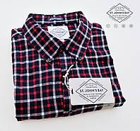 Мужская фланелевая рубашка St.John's Bay®(США) (XL) /100% хлопок /Оригинал из США