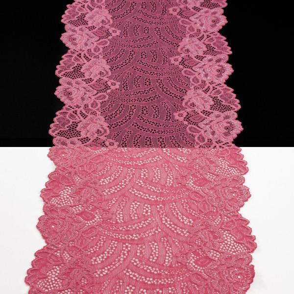 Кружево Италия арт. 30 розовое, шир 18 см