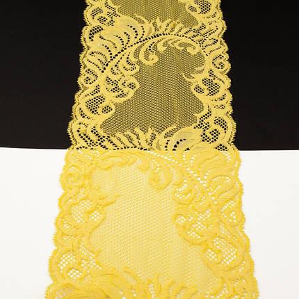 Кружево Италия арт. 48 желтое, шир 14 см, фото 2