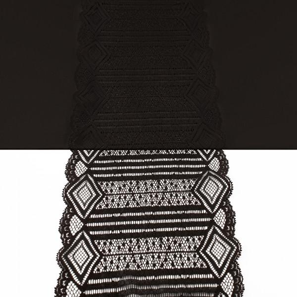 Кружево Италия арт. 51 черное, шир 16 см