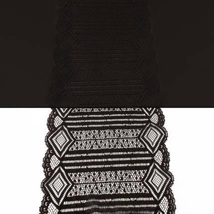 Кружево Италия арт. 51 черное, шир 16 см, фото 2