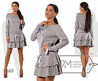 Красивое женское платье,норма,р.42-44,44-46 Фабрика Моды