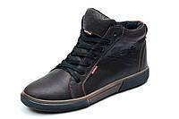 Зимние ботинки Wrangler, мужские, коричневые, натуральная кожа, р. 41 42 43 44 45