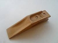Зуб-вилка (Gabelzahn), расстояние между отверстиями 45 мм  - зубья, наконечники и крепления для ковша погрузчика/экскаватора - Зуб-вилка
