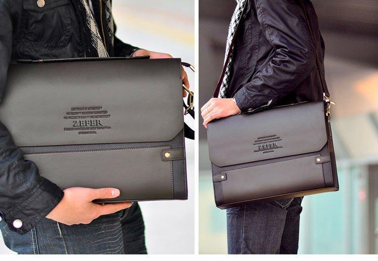 bbc1327dd61c Каркасная мужская сумка-портфель ZEFER. Стильные мужские сумки. Качественные  мужские сумки. ...