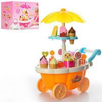 Игровой набор магазин-тележка на колесах 668-25-26