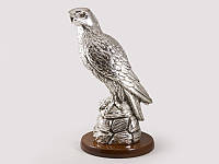 Статуэтка Exetera Сокол серебро 30см