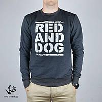 Мужской свитшот Red and Dog - Pulse RND Charcoal