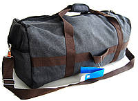 Большая дорожная сумка из холста. Сумка-трансформер. Дорожный рюкзак КСС55