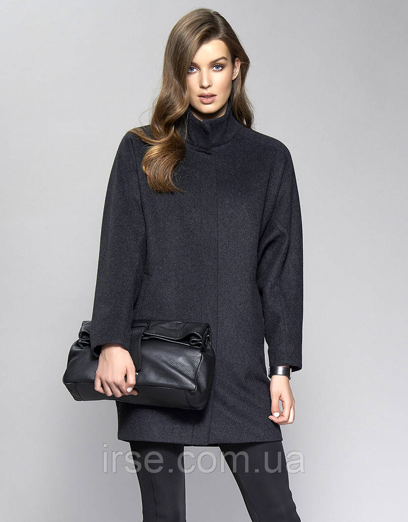e8754724e9a Купить Женское пальто Tris Zaps цвета графит