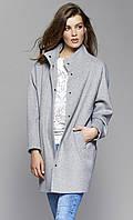 Женское пальто Tris Zaps серого цвета, коллекция осень-зима 2017-2018