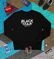 Свитшот мужской черный Блек Стар Black Star Mafia