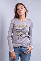 Кофта свитшот женская p.42-46 S1425