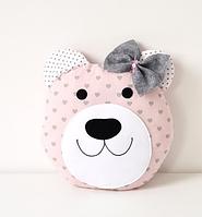 Подушка - Мишка, для мальчика и для девочки
