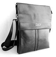 Мужская сумка Langsa. Сумка через плечо. Сумка планшет. Стильная сумка. Красивая сумка. , фото 1