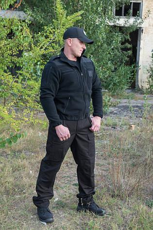 """Брюки черные """"Outdoor М65"""" 100%х\б (палатка), фото 2"""