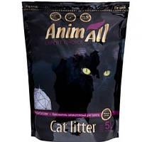 AniMall (АнимАлл) ПРЕМИУМ ФИОЛЕТОВЫЙ АМЕТИСТ 5л (2.2кг) - силикагелевый наполнитель для кошек