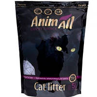 AniMall ПРЕМИУМ ФИОЛЕТОВЫЙ АМЕТИСТ 5л (2.2кг) - силикагелевый наполнитель для кошек