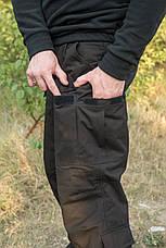 "Брюки ""Тренд Police"" Black 100%х/б (палаточная ткань), фото 2"