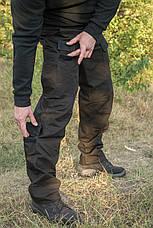 "Брюки ""Тренд Police"" Black 100%х/б (палаточная ткань), фото 3"