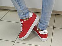 Кроссовки женские Dual красные