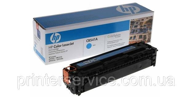 Cartridge HP CB541A cyan для цветных принтеров LJ CP1215 и CP1515 series (№125A)