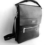 Мужская сумка Langsa. Сумка через плечо. Сумка планшет. Стильная сумка. Качественная сумка.. , фото 3