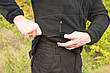 "Брюки ""Тренд Police"" Black 100%х/б (палаточная ткань), фото 4"