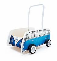 """HAPE Толкач """"Классический автобус"""" синий (Е0381)"""