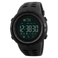 Часы Skmei 1250 black smart , водонепроницаемые, мужские час, спортивные, ударостойкие