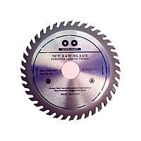 """Пила дисковая с твердосплавными напайками """"Inter Craft"""" ø 125x22,2x24T"""