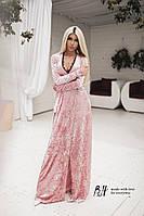 Платье вечернее Материал : бархат Цвета : серый, бежевый, розовый, красный, зеленый ааван №0179