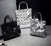 Оригинальная женская сумка с лазерным геометрическим дизайном. Супер новомодный аксессуар. Дешево. Код: КГ2022