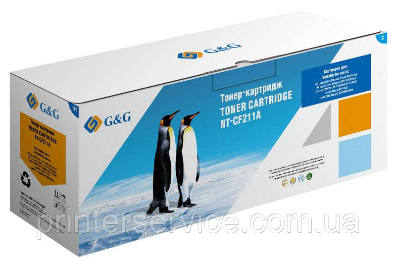 Картридж аналог HP CF211A Cyan для HP M276/ M251 (G&G NT-CF211A)