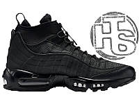 Мужские кроссовки Nike Air Max 95 Sneakerboot Triple Black 806809-002