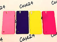 Пластиковый чехол Alisa для Sony Xperia C4 Dual E5333 (4 цвета)