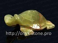 Черепаха из оникс, фото 1