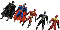 "Набор фигурок ""Super Hero"", 5шт (подсветка)"