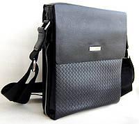 Мужская сумка Armani через плечо. Сумка планшет. Стильная сумка. Качественная сумка., фото 1