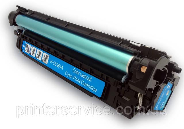 Cartridge HP CE261A (647A) cyan для CLJ CP4025dn, CP4025n, CP4525dn, CP4525n, CP4525xh