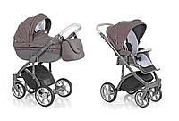 Детская универсальная коляска 2 в 1 ROAN Bass Soft Grey Powder, (7225)