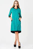 Платье женское Руслана 46, бирюза