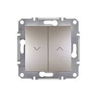 Выключатель Schneider-Electric Asfora Plus для жалюзи бронза