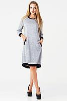 Платье женское Руслана 44, серый