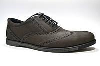 Туфли броги мужские нубук Rosso Avangard Persona Loft коричневые, фото 1