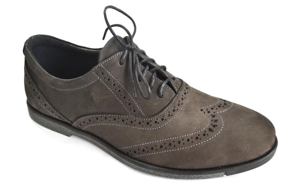 Туфли броги мужские нубук Rosso Avangard BS Persona Loft коричневые, фото 1