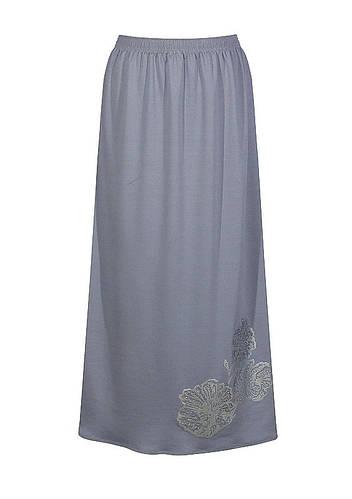 Трикотажная юбка большого размера Маки