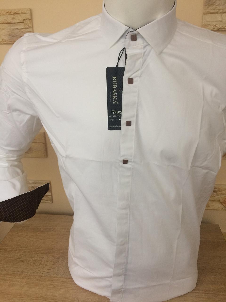 Рубашка длинный рукав Rubaska айвори